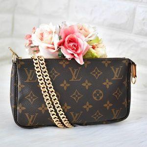 Louis Vuitton Bags - 💖Louis Vuitton Pouchette Monogram